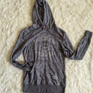 Grey Mickey Mouse Disneyland hoodie xs